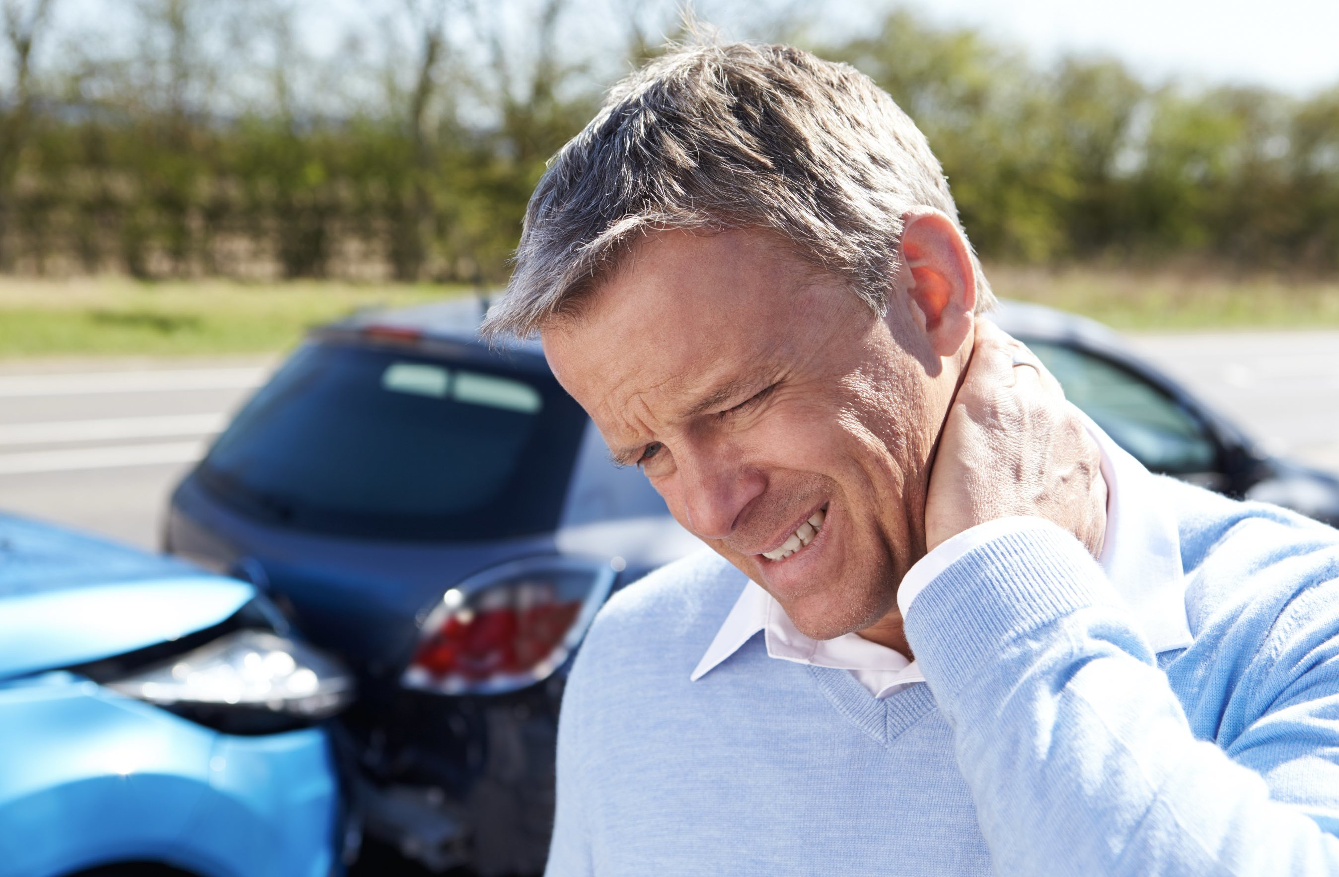 neck pain from accident